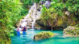 Port Antonio Portland Jamaica Blue Lagoon Somerset Falls Frenchman's Cove