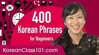 400 Everyday Life Korean Phrases for Beginners