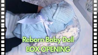 REBORN BABY BOX OPEN NG Lanny By Olga Auer By Amazing Russian Prototype Artist Anastasia Bochkova