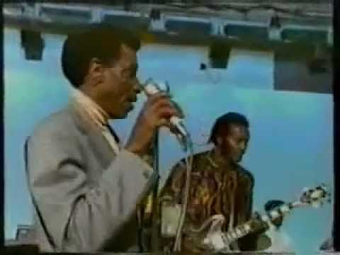 Montreux Jazz Festival >> T- Bone Walker with Chuck Berry - Everyday I Have The Blues - YouTube