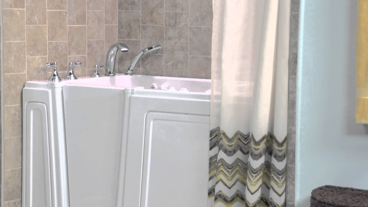 Walk In Bathtubs: Therapeutic Benefits Of Walk In Bathtubs By American  Standard   YouTube