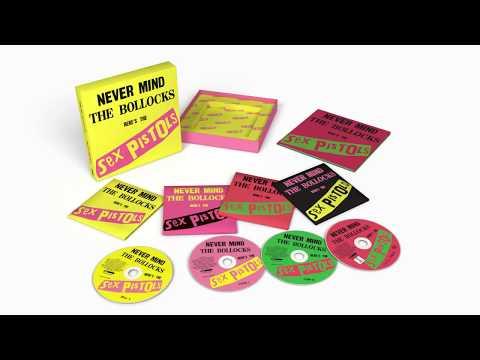 Sex Pistols: Never Mind the Bollocks 40th Anniversary Deluxe Edition (4 discs)
