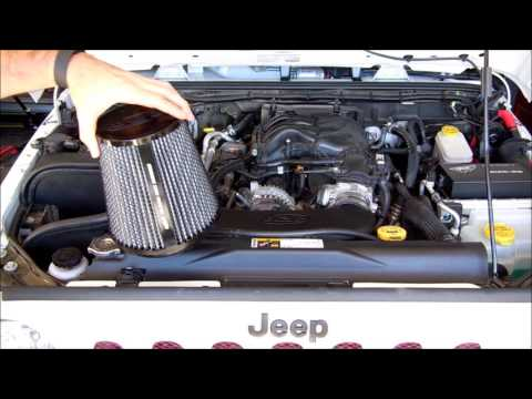 How To Install A Cold Air Intake Jeep Wrangler Jk 2015