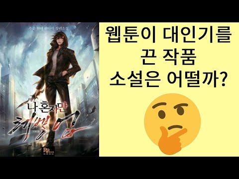심영이 사이타마가 되는과정 E급헌터의 반란 나 혼자만 레벨업 (소설리뷰)