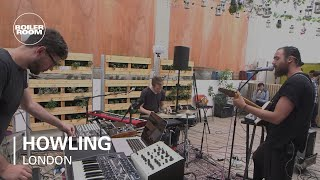 Howling Boiler Room LIVE Show performing