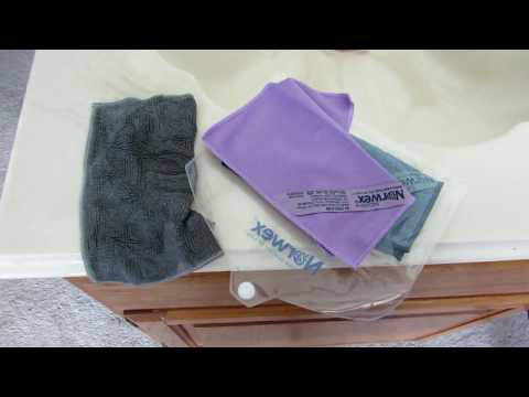 Norwex Cloths Get it Clean FAST!
