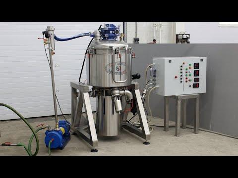 Оборудование для производства плавленого сыра - Изготовитель плавленого сыра. Видео УМТИ-150