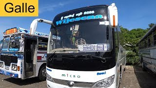 Express Bus Ex01 From Galle To Colombo Sri Lanka Youtube