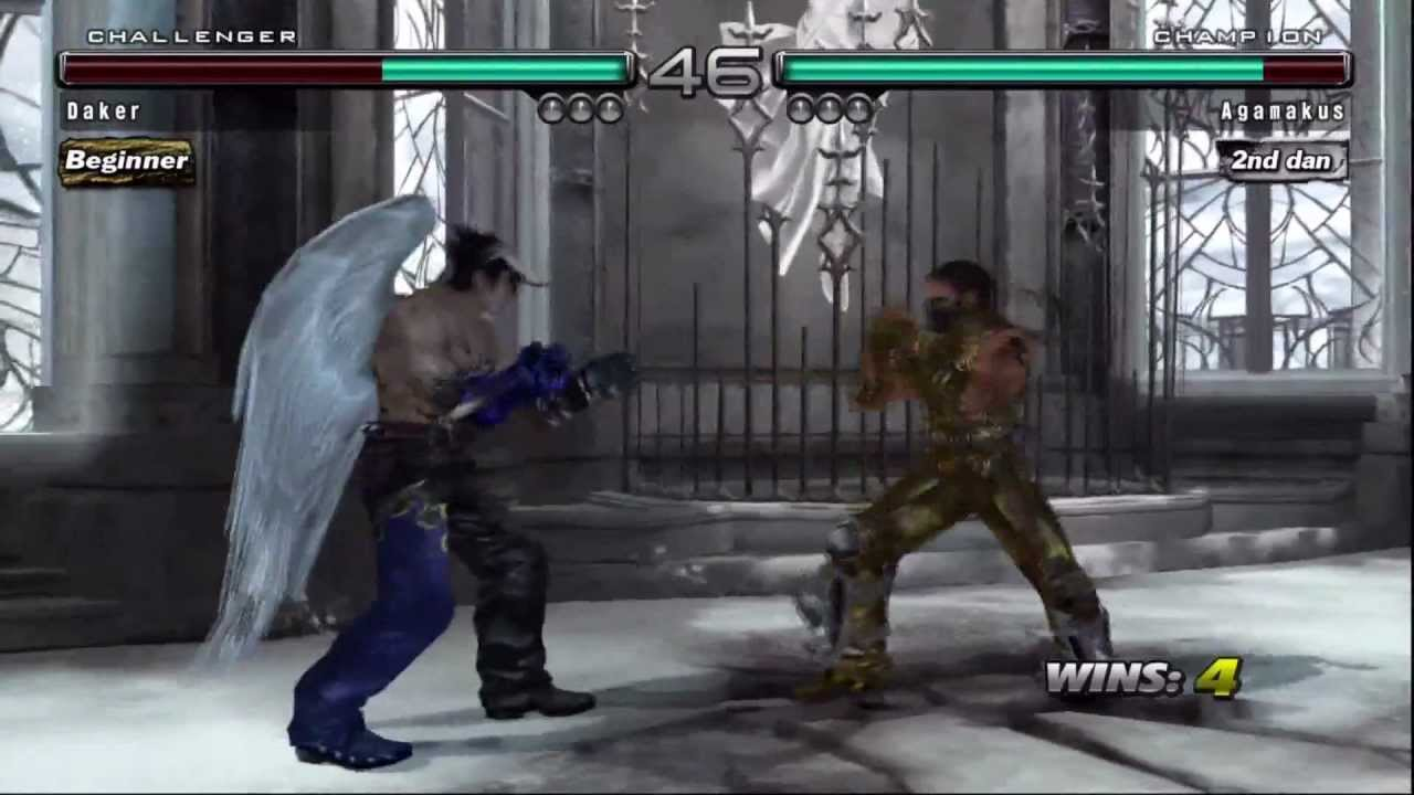 Tekken 5 Dr Devil Jin Vs Raven Youtube
