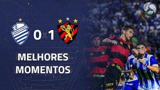 CSA 0 x 1 Sport | Gol e Melhores Momentos | 1ª rodada | Copa do Nordeste 2020