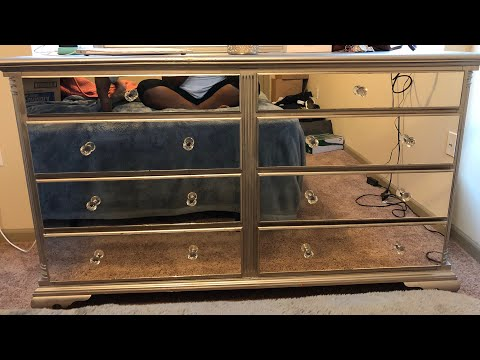 diy-mirrored-dresser-under-$100