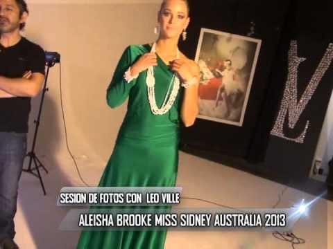 ARTE MODA Y PEOLE: entrevista con MISS SIDNEY AUSTRALIA 2013