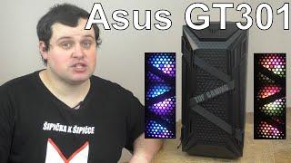Asus Tuf Gaming Gt301 Aura Rgb Unboxing Skříně