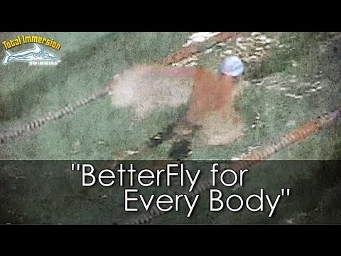 "Butterfly with the ""Breast Kick"" from BetterFly for Everybody DVD"