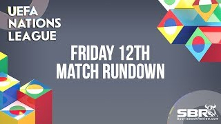 UEFA Nations League Free Picks and Predictions Friday 12th | The Bankroll