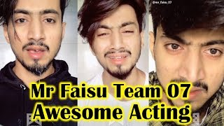 Mr Faisu Heart Touching Acting Team 07 Musically Video || TikTok Video Ep-16 || Big Bollywood