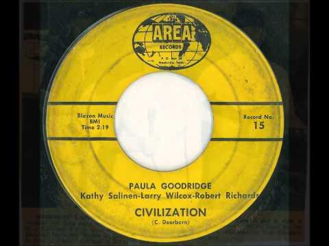 "Paula Goodridge & company -- ""Civilization"" (Area label, Rockland Records)"