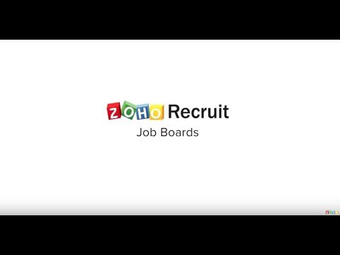 Publish to job boards