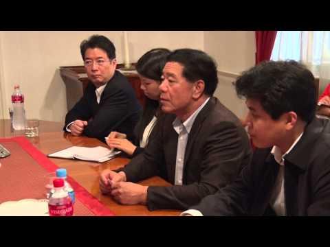 Mo Jiancheng beszéde / 2014.09.15. Pest Megye - Jiangxi