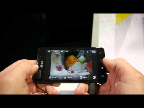 Preview LG Optimus 3D Max