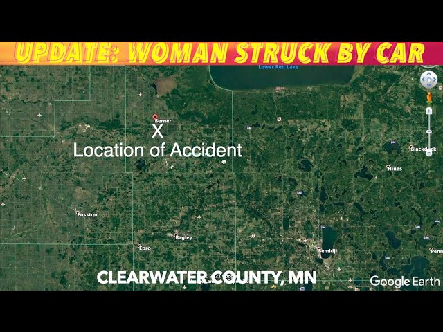 UPDATE: Woman Struck By Car In Clearwater County, Minnesota
