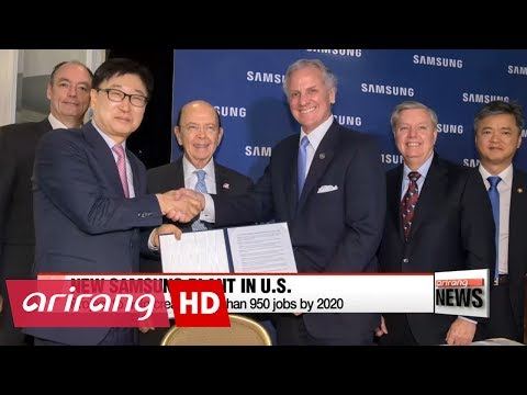 Samsung Electronics to build new factory in U.S.