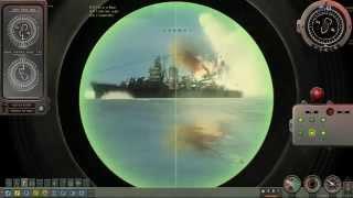 Alfa class Submarine VS Cruisers 3/3