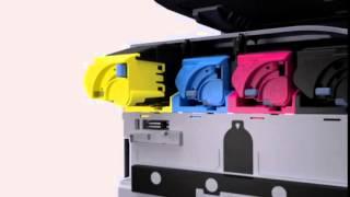 Простая замена картриджей Kyocera(Интернет-магазин Kyocera - самый большой выбор принтеров и МФУ Kyocera. Картриджи. Заправка. Сервис http://kyo.com.ua/, 2015-08-03T12:26:04.000Z)