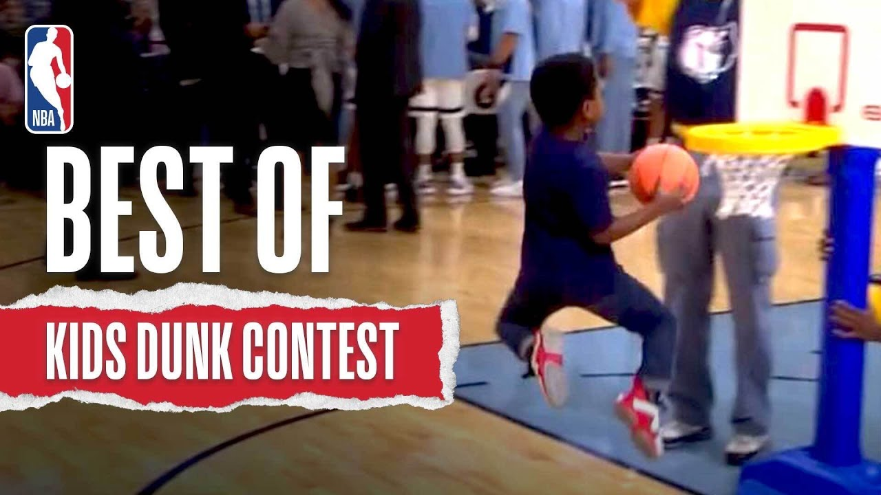 Download Best Of INCREDIBLE Kids Dunk Contest Moments