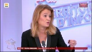 Olivia Grégoire sur Public Sénat le 16 janvier 2018