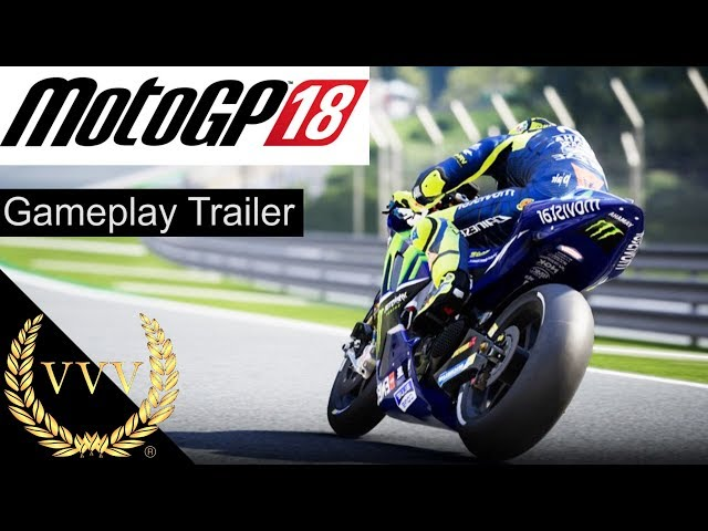 MotoGP 18 Gameplay Trailer
