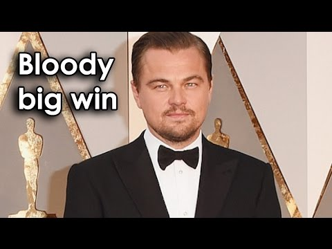 Ozzy Man Reviews: Leo's Oscar Speech