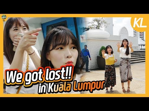 Korean Girls got LOST in Malaysia!!!! + MRT Reactionㅣ Blimey in KL Ep.05