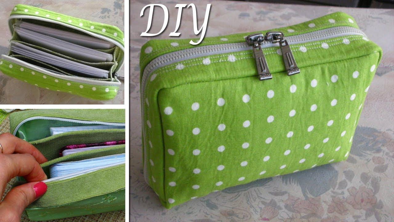 ef29082a3627 DIY Zipper Pouch Bag Tutorial • DIY BAG VIDEO TUTORIAL - YouTube