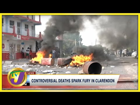 Controversial Deaths Spark Fury in Clarendon Jamaica | TVJ News