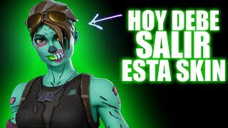 TODAY YOU HAVE TO LEAVE THIS SKIN......*WAITING FOR THE NEW STORE* FORTNITE TheSeven:D