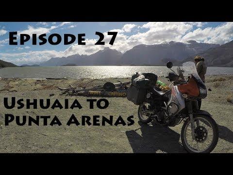Americas Motorcycle Trip - Episode 27: Ushuaia to Punta Arenas