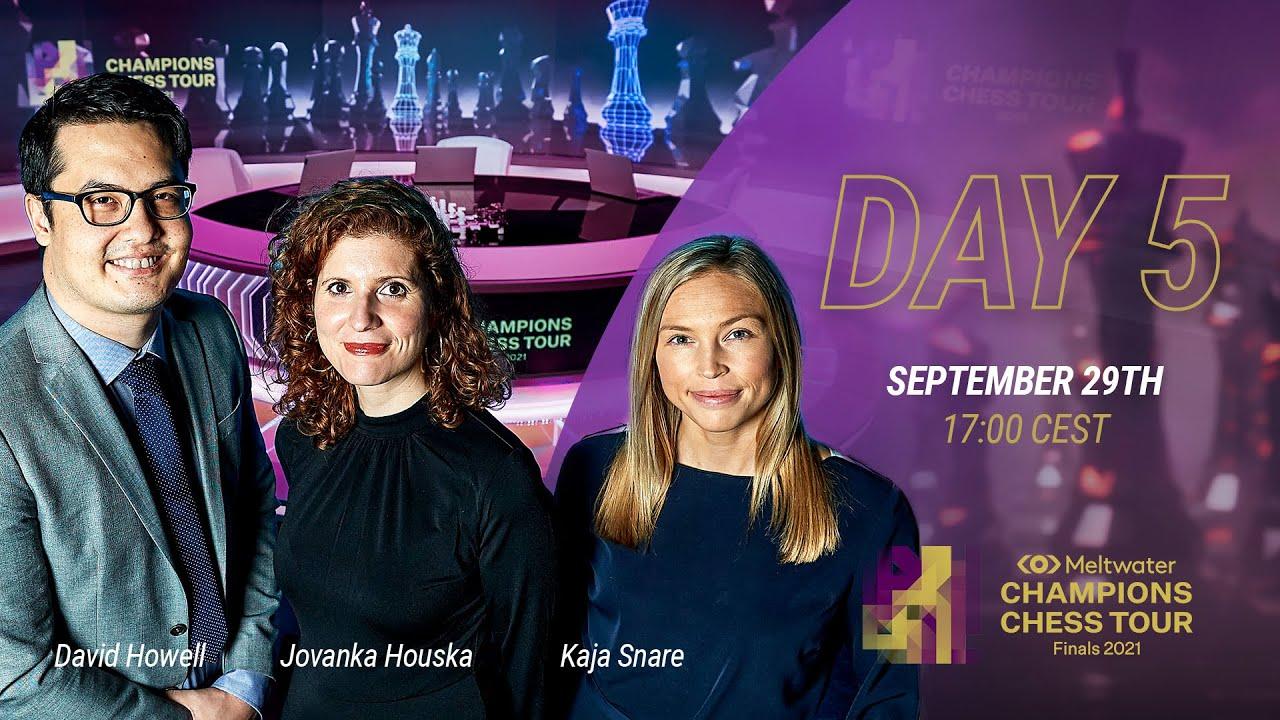 Download Meltwater Champions Chess Tour Finals | Day 5 | David Howell, Jovanka Houska & Kaja Snare