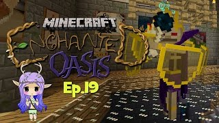 """DEFEATING THE LICH"" Minecraft Enchanted Oasis Ep 19"