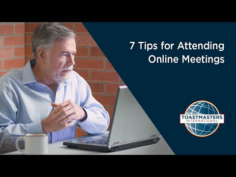 7 Tips for Attending Online Meetings