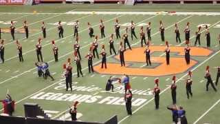 DEATH OF SUPERMAN - Baldwinsville Marching Band NYSFBC HD