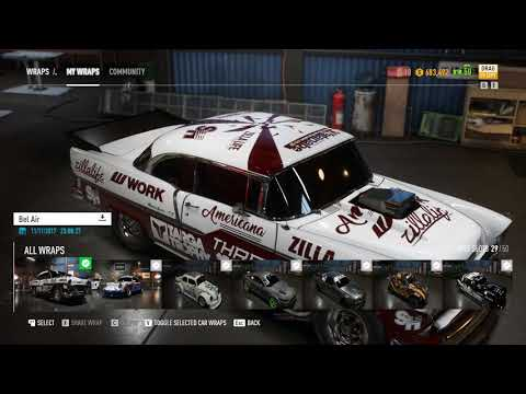 Nfs Payback Chevy Bel Air 1955 Drag Super Build