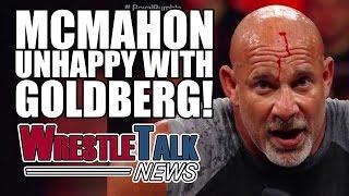 John Cena Wrestlemania 33 Match Revealed? Vince McMahon Unhappy With Goldberg! | WrestleTalk News