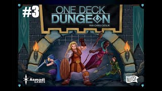 #3/3 One Deck Dungeon - Partie rapide solo