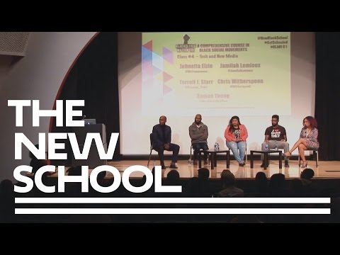 Black Lives Matter 101 - Class #4 - Tech and New Media   The New School