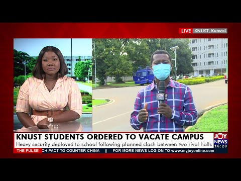 KNUST Students Ordered to Vacate Campus - The Pulse on JoyNews (16-9-21)