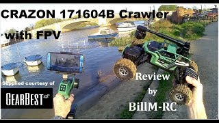 CRAZON 171604B 1:16 RC Crawler Car with WiFi FPV camera review