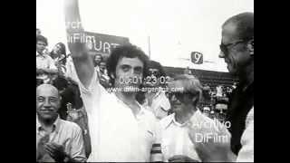 DiFilm - Jose Luis Clerc gana el Abierto de la Republica Argentina 1978