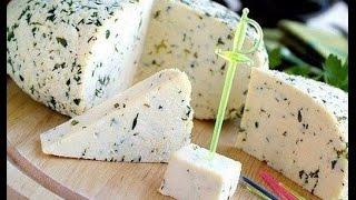 видео Домашний сыр с зеленью