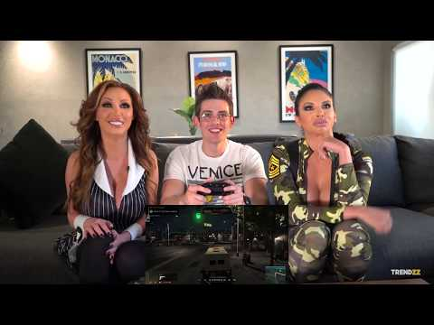Porn Stars Play  Mafia III ft  Nikki Benz \u0026 Missy Martinez